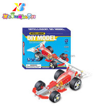Educational Toys DIY model racing car building block toys for kids