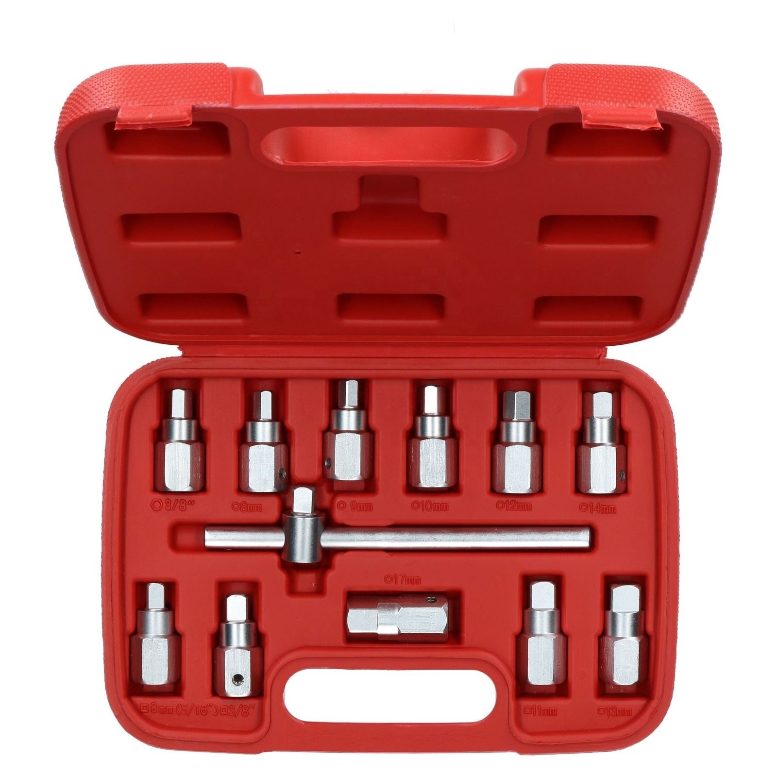 Drain <strong>Plug</strong> <strong>Sump</strong> Key Set Gearbox Axle Repair Oil Change Kit 12pcs Set