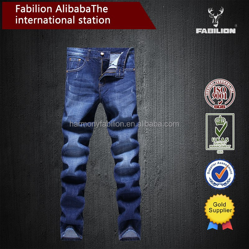 wholesale Cultivate one's morality version all sizes jeans for men