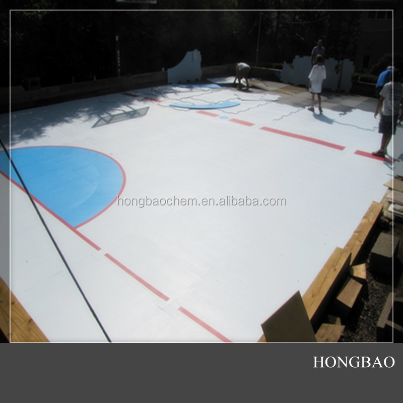 ice rink hdpe sheet, hockey shooting pad, Christmas synthetic ice