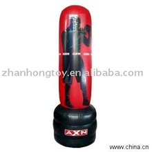 2013 New design at very good factory cost Plastic pvc air inflatable tumbler for advertisment and promotions