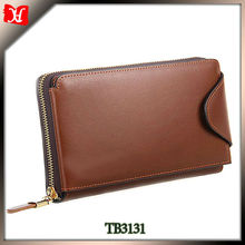 Latest hot selling wallet case good quality genuine leather wallet