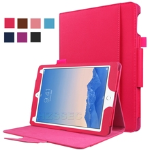 Auto Wake Sleep Card Slots Premium PU Leather Stand Smart Cover case for iPad pro 9.7