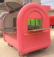 Mobile fast food cart/outdoor coffee kiosk