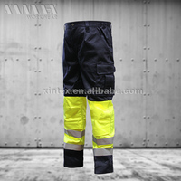 NFPA 2112 / ISO11612/EN 20471NORTHCAPE multinorm workwear trousers