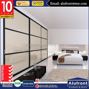 Best selling aluminum wardrobe sliding door wardrobe closet door
