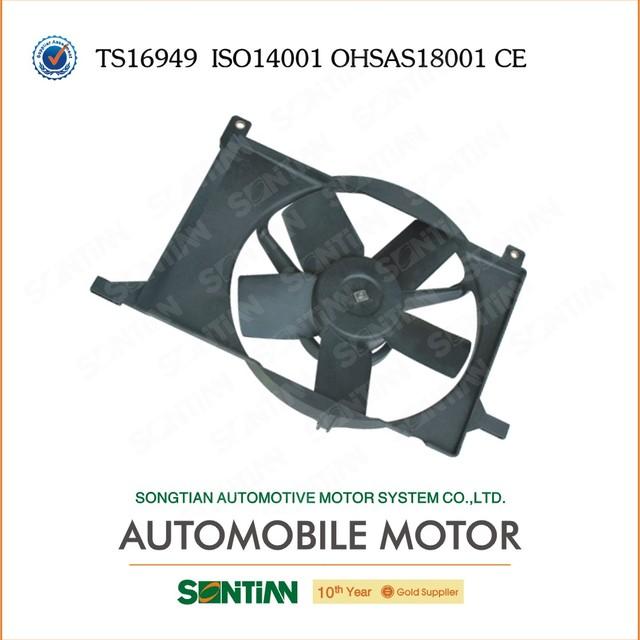 Electric Car Fan For Chevrolet Sail 12V DC Motor OEM NO 92099808 From China Zhejiang Songtian