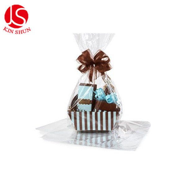 Pack of 2 Dome shrink wrap basket bags for gift baskets