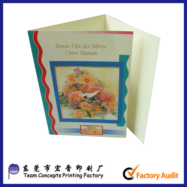 cheap fancy happy mother's day paper greeting cards