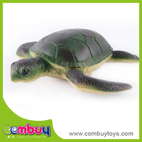 New design kid soft rubber turtle toy with ic
