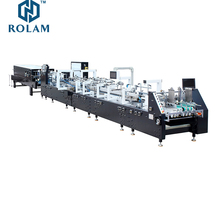 GK-800GS Automatic higher liner speed 4 6 corner Folding gluing machine