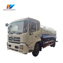 Stainless Steel Used Mini 4000 liter Water Tank Truck for sale