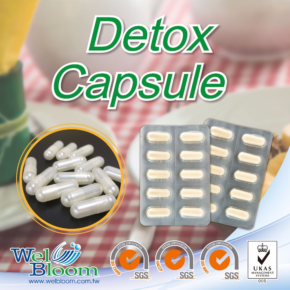 Herbal Extract Laxative Syrups Private Label Brands Detox Capsule
