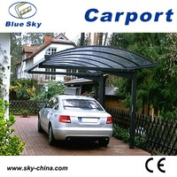 Polycarbonate and aluminum carport tricycle in philippines