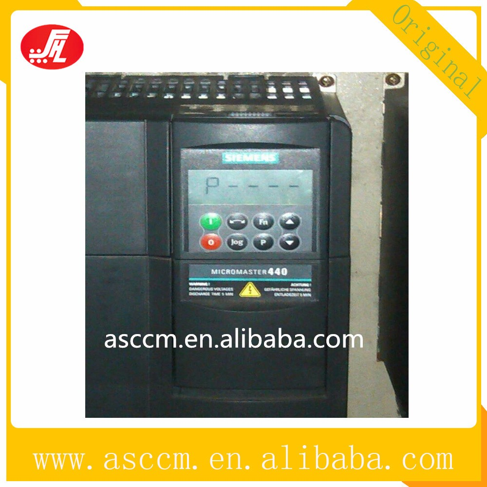 Low Cost Siemens MM440 AC Variable Frequency Drive 6SE6440-2UC27 ...