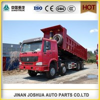 Chinese Heavy SINOTRUK HOWO 8x4 Dump Truck with best quality/8 x 4 truck