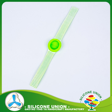 Hot selling silicone rubber wrist watch strap