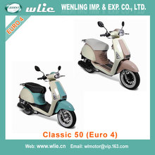 2018 New chinese best 50cc gas scooter cheap model 4 stroke Classic (Euro 4)