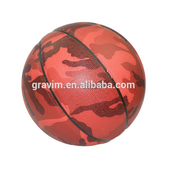 cheap PU laminated Basketball In Bulk pu material