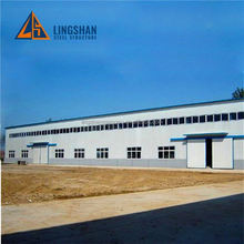 Best Selling Cheap Practical Galvanized modern prefabricated workshop buildings