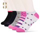 Wholesale summer fashion pink colorful women stock socks ankle socks