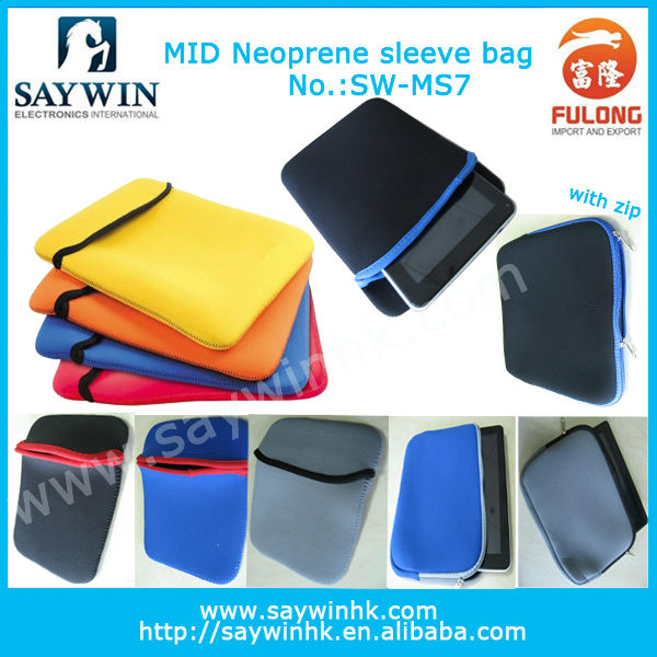 Hot selling silicone tablet sleeve for tablet pc for android MID colorful 7/8/9/9.7/10.1 inch