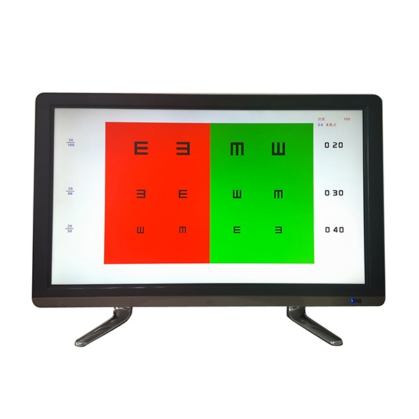 China good quality <strong>LCD</strong> screen chart eye test chart digital vision testing chart