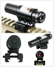 Promotional Tactical Hunting Red Dot Laser sight w/ Mount for 20mm Picatinny & 11mm Rails Compact Adjustable Airsoft