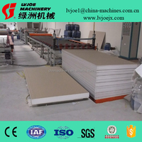 gypsum ceiling board making machine for small business
