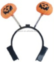 pumpkin headband with flashion
