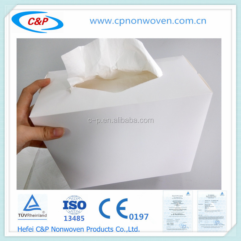 Sterile surgical hand towel , hand paper with small box pack,
