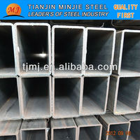 erw rectangular pipe with hollow section sell from Chinese manufacturer
