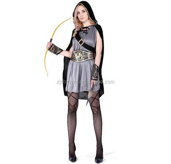 Hot Anime Halloween New Adults Women Robin Hood Cosplay Costume