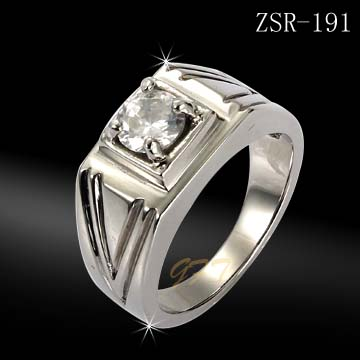 Fashion 316l stainless steel gemstone jewelry india