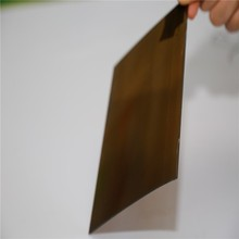 Plastic Construction Decorative Customized Polycarbonate Glass Sheets