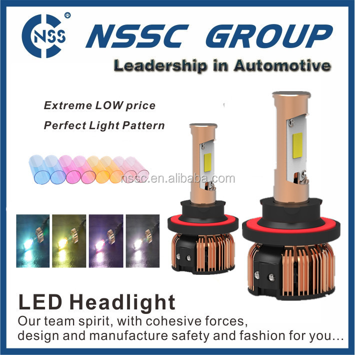 2015 Best Performance Auto LED Headlight with No Interference To Radio