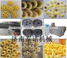 tuv ce rohs approved high quality curls corn snacks processing machine for house