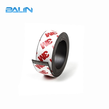 Rubber Feet Magnetic Strip with Strong Self Adhesive Magnetic Roll Flexible Magnetic Tape