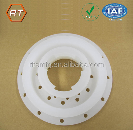 custom abs pom acetal acrylic uhmwpe pe plastic parts cnc machining shop