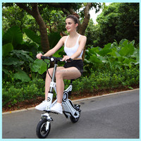 Cheap motorized bicycle bikes two wheel folding electric bike , electric kick scooter