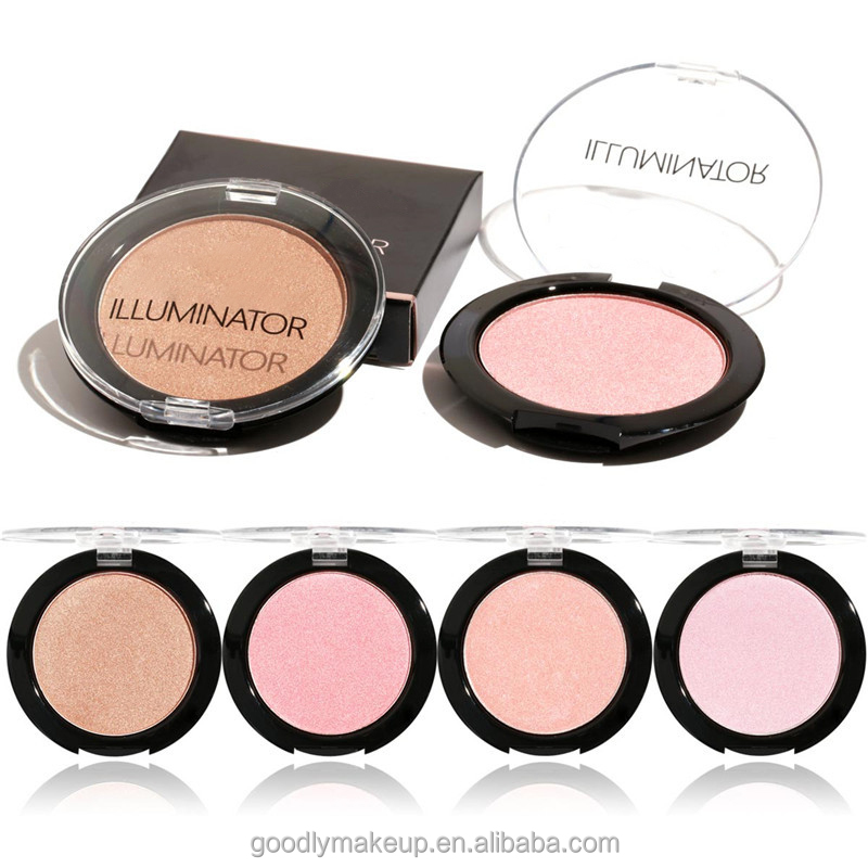 New Hot Cosmetics Four Colors Blusher Pro Makeup Kit For Facial Clean Natural Blush Palette