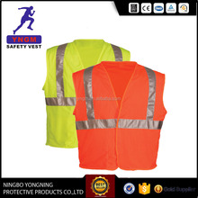 EN20471 100%Polyester High Visibility Motorcycle Reflective Safety Vest