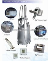 2012 Professional Vacuum Cavitation Tripolar RF Fat Reduction And Skin Tighten Machine M8+2