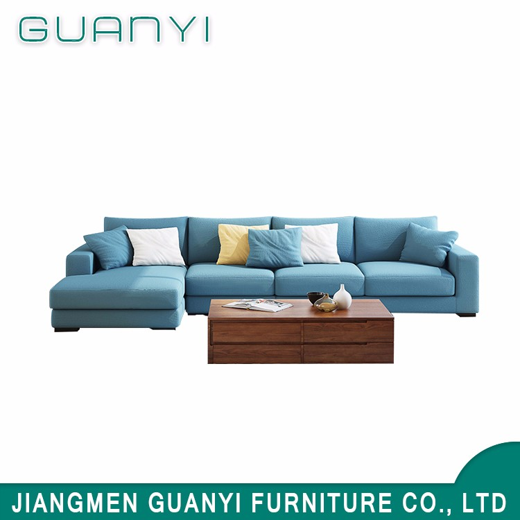 Hot sales Modern Design Living Room Sofa Fabric Sectional Sofa Set