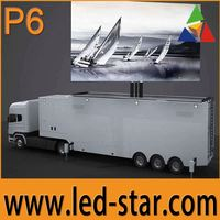 Advertising P6 Truck Mobile LED Video Display Wall Hot Selling in Middle East