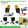 Pure Sine Wave UPS Inverter 12v 10a power supply with AC/Car/Solar 3 ways for charging