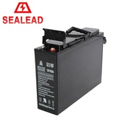 Top quality gel front terminal vrla dry battery 12v 100ah