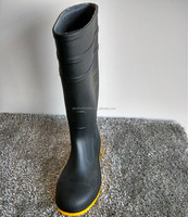 Working Rubber Boots Light Weight Mining Rubber Boots Steel Toe Rubber Boots