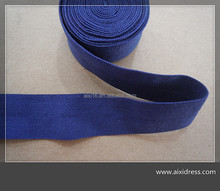 40D/70D elastic nylon ribbon folded nylon and spandex for garment or bags