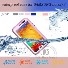 High quality mobile phone cover waterproof case for note 3